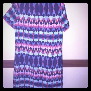 J.Crew abstract sheath dress EUC